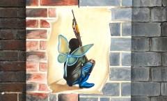 Andrea Tyrimos_Battle wings_#art4peace_in progress